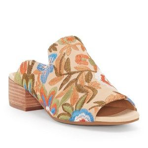 Embroidered Noomrie Mules